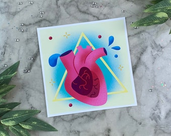 Witchy Heart | Art Print