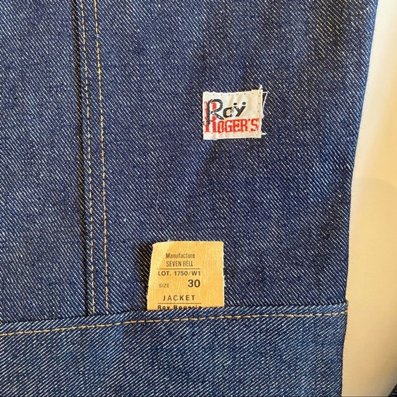 Vintage Roÿ Rogers Denim Jacket - image 3