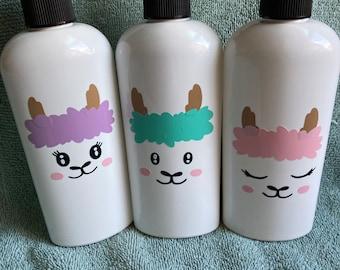 Llama Soap Bottle -Liquid Soap Pump Llama Hand Soap Decorative Soap Pump Housewarming Bathroom Powder Room Decor Kitchen Soap