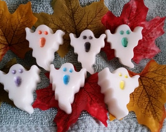 Ghost Soap Set- Mini ghost, mini soaps,Party favor,Halloween Party,Kids soaps,Halloween, Cute soaps, ghost soaps