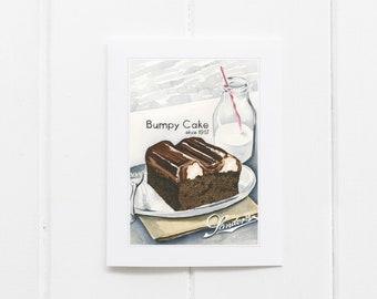 Sanders Bumpy Cake Card