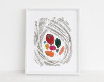 Protected - Abstract Digital Illustration Fine Art Print