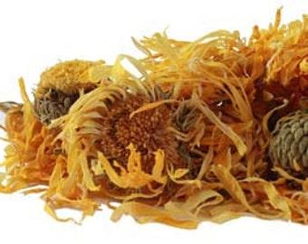 Calendula Herbal Oil Infused with Organic Calendula Petals