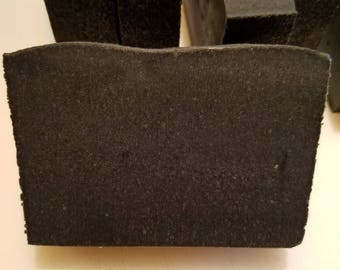 Detoxifying Black Soap with Shea Butter and Charcoal for Troubled Skin  CPOP