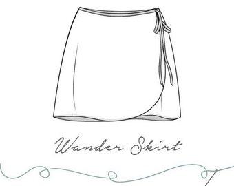 Wander Skirt Pattern PDF Download