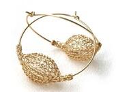 Gold Hoop Earrings.Hoop Earrings Gold.Statement Earrings.Hoop Earrings Gold.Gold Hoop.Thick Hoop.Gift for Her