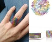 Rainbow wire, Multicolor wire 0.3mm 28 gauge