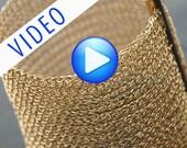 Bracelet tutorial, YoolaCuff Pattern, PDF and VIdeo, how to wire crochet a bracelet