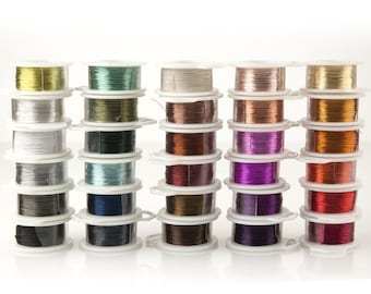 Jewelry wire for wire crochet jewelry, Best craft wire craft supplies, Crochet Crafting wire, 28 gauge wire, 120 feet wire, Non tarnish wire