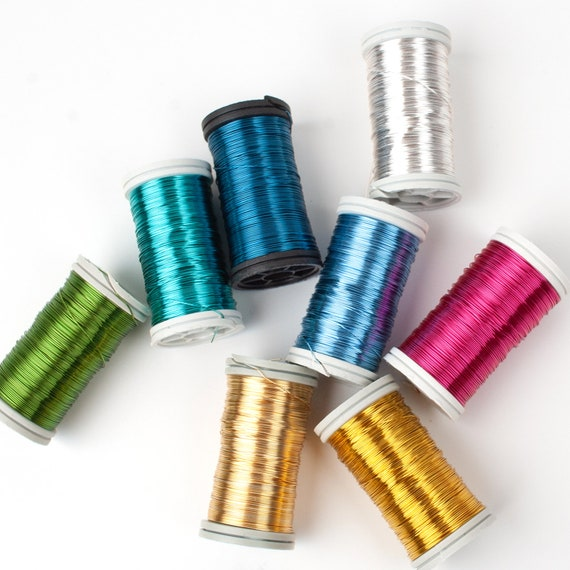 0.3mm Iron Craft Wire Multicolour 20m Spool Accessory Jewellery Making Crafts
