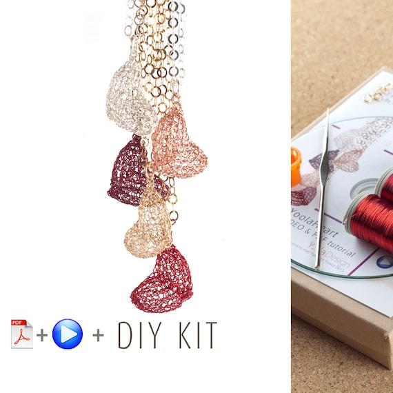 DIY Halskette Kit Herz | Etsy