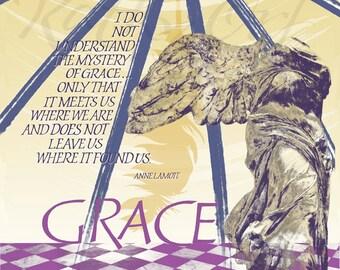 Grace....a digital collage