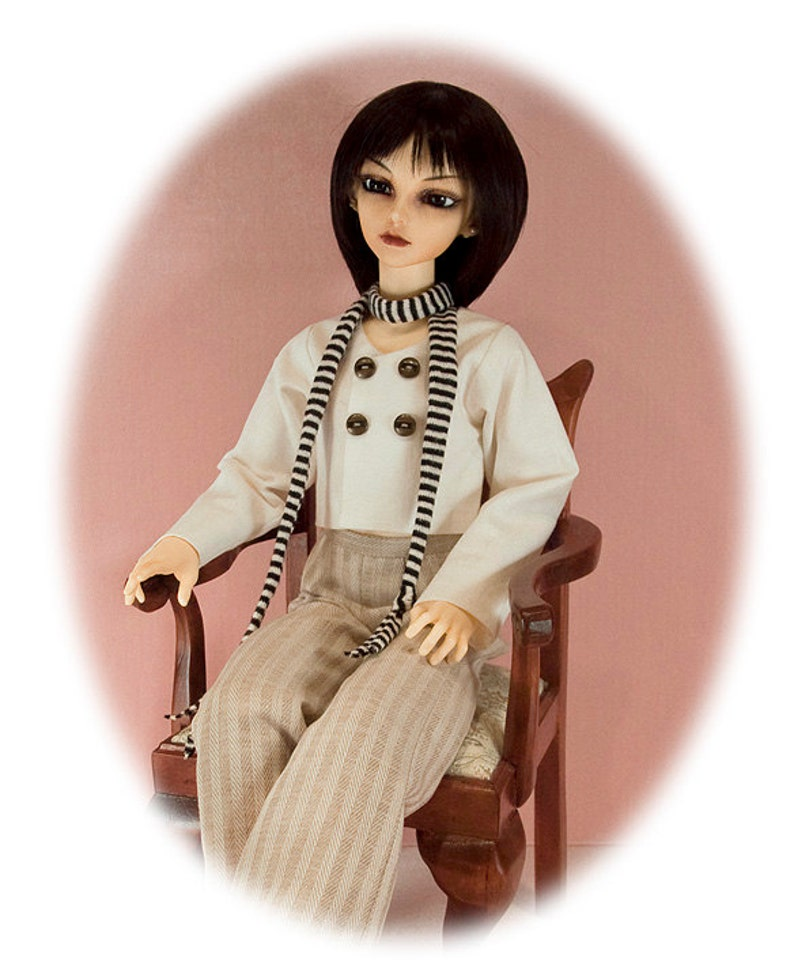tiny top jacket /& hat BJD SD Pattern 4 60cm Luts girls /& similar bodies; pants
