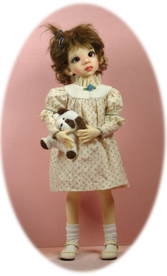 "Dollmore /& more! Ellowyne Little Darling MSD pattern for Kaye Wiggs 14/"" Kish"
