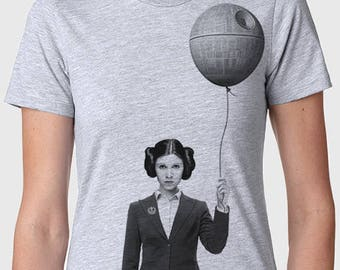 Business Princess Leia, Carrie Fisher women's graphic t-shirt, star wars gift for her, gift for wife girlfriend,Father's day gift,unisex tee
