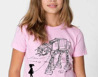 My Star Wars AT-AT Pet - Toddler / Youth kids t shirt ( Star Wars kids t shirt ), gift for daughter, gift for niece, star wars birthday gift