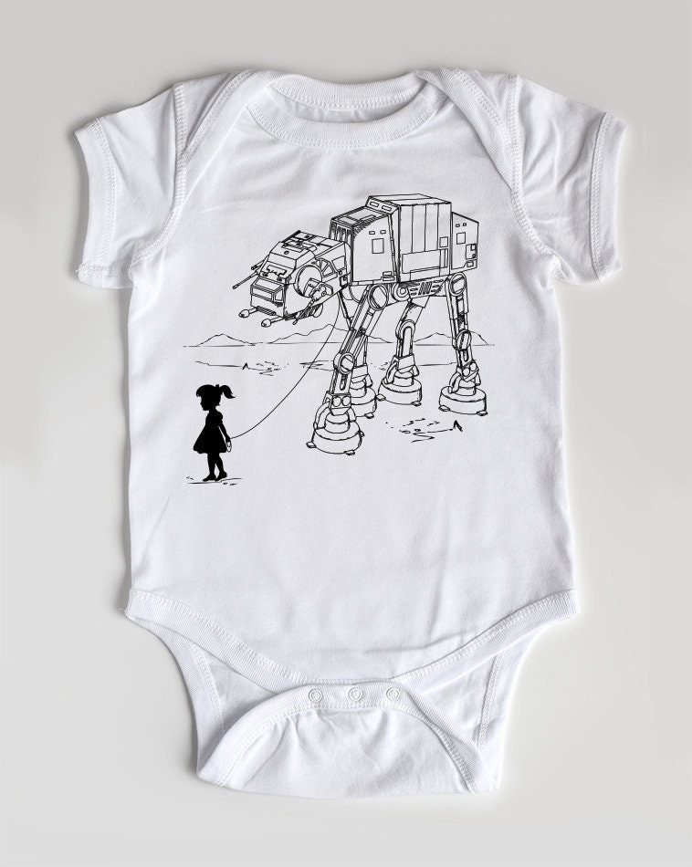 Meine Star Wars AT-AT Pet Babybody Säugling Einteiler | Etsy