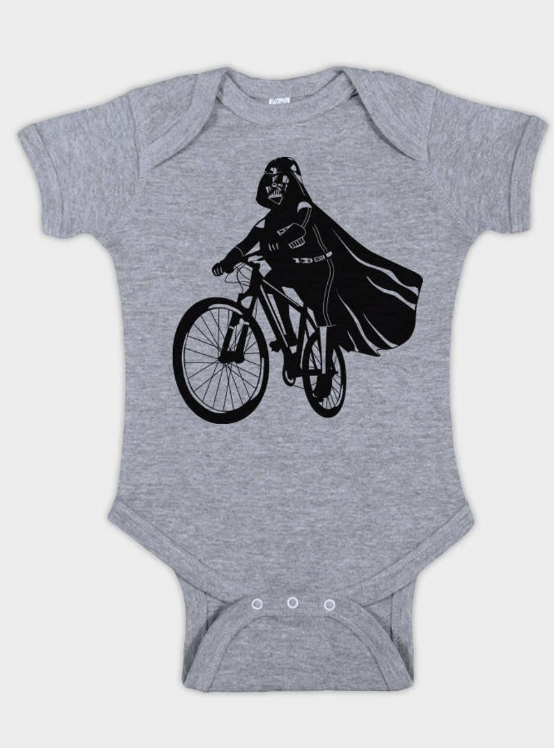 d971f5e4da6 Darth Vader is Riding It baby star wars bodysuit funny infant | Etsy