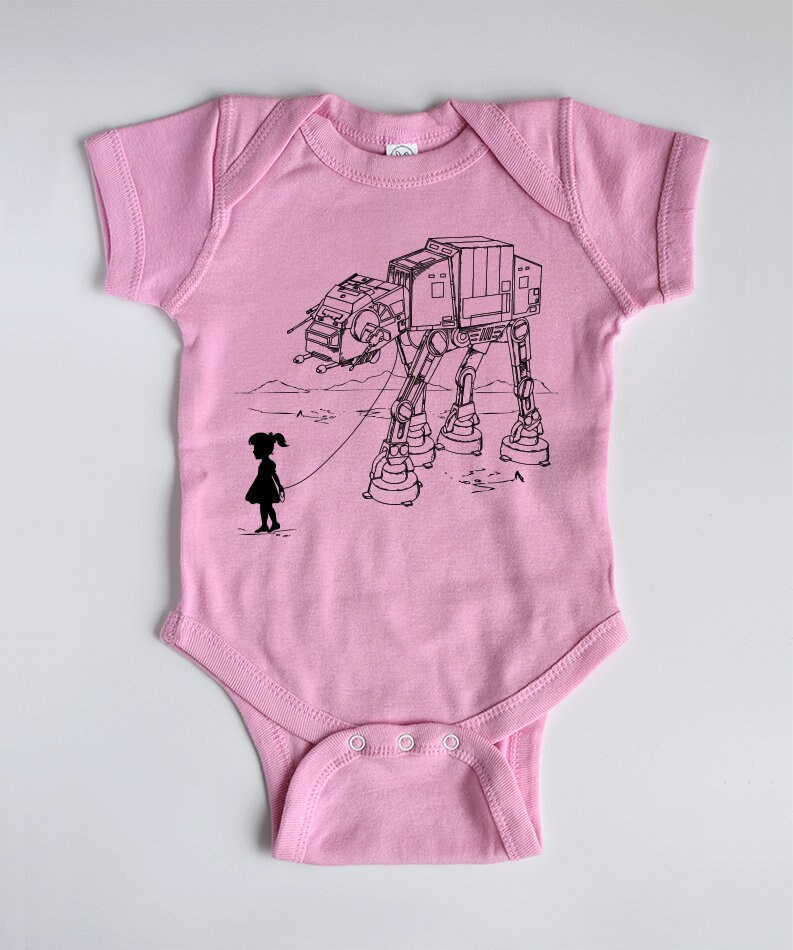 Meine Star Wars AT-AT Pet Babybody Star Wars Baby | Etsy