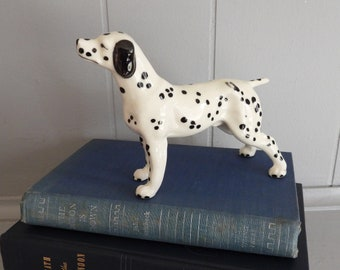 Vintage Otagiri Dalmatian Dog Pen Pencil Toothbrush Holder Ceramic Japan Figure