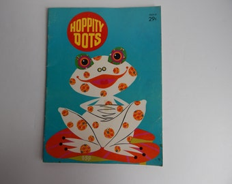 1968 Hoppity Dots Connect the Dots Children's Coloring Book