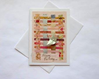 My girlfriend birthday card| Happy birthday card for husband| Origami birthday card for sister| Romantic birthday card for wife