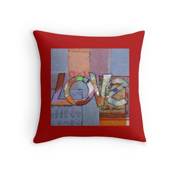 Decorative Pillows On Bed Pillow Covers Boho Eclectic Decor Etsy Awesome Cute Decorative Bed Pillows