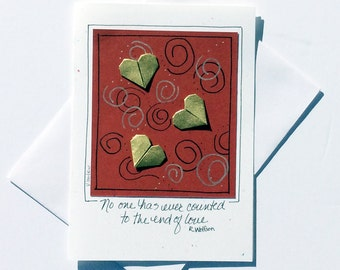 Valentines Day Card,Valentine Day Greetings,Valentines Day Cards for Him,Love Greeting Cards,Love Cards,Richard Wolfson,Heart Art Cards