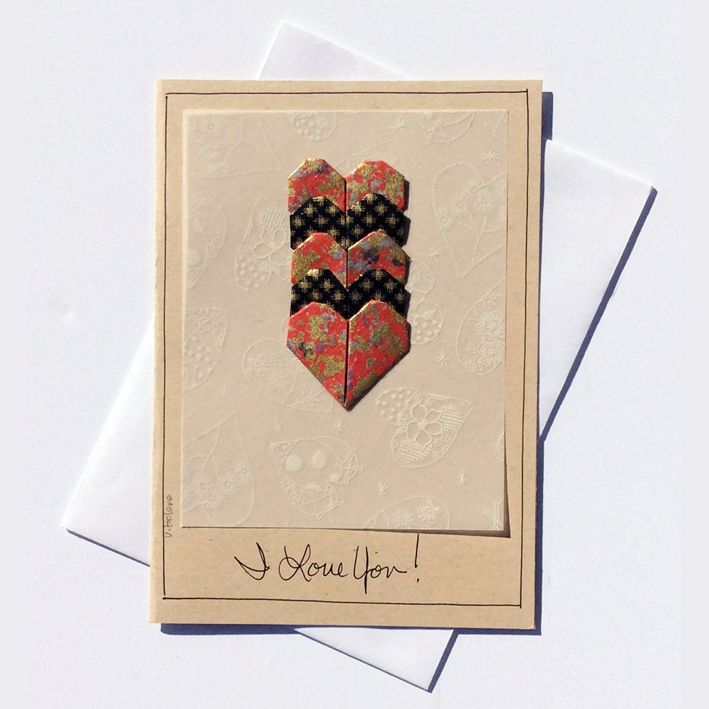 Card For All Occasionsromantic Cards For Loverspaper Art Etsy