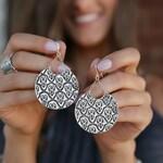 Gypsy Earrings, Gypsy Jewelry, Ethnic Earrings, Hippie Jewelry, Crescent Moon Earrings, Gypsy Fashion Jewelry, Gyspy Style Jewelry Earrings