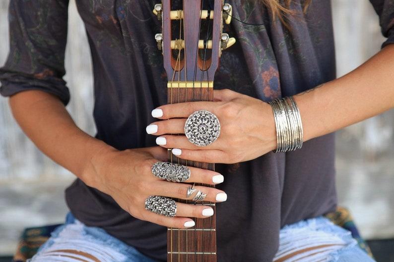 Chunky Ring Boho Jewelry CHUNKY BOHO RING Boho Chic image 0