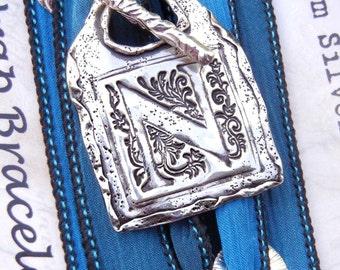 Best Friend Gifts, Friendship Jewelry Gift, Friendship Bracelet Gift, BFF Friendship Silk Wrap Bracelet, Best Friend Jewelry Gifts, BFF Gift