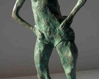 """The Heart of a Dancer"""" bronze sculpture"""