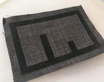 Hand-silkscreened Classic Metanet Logo Patches