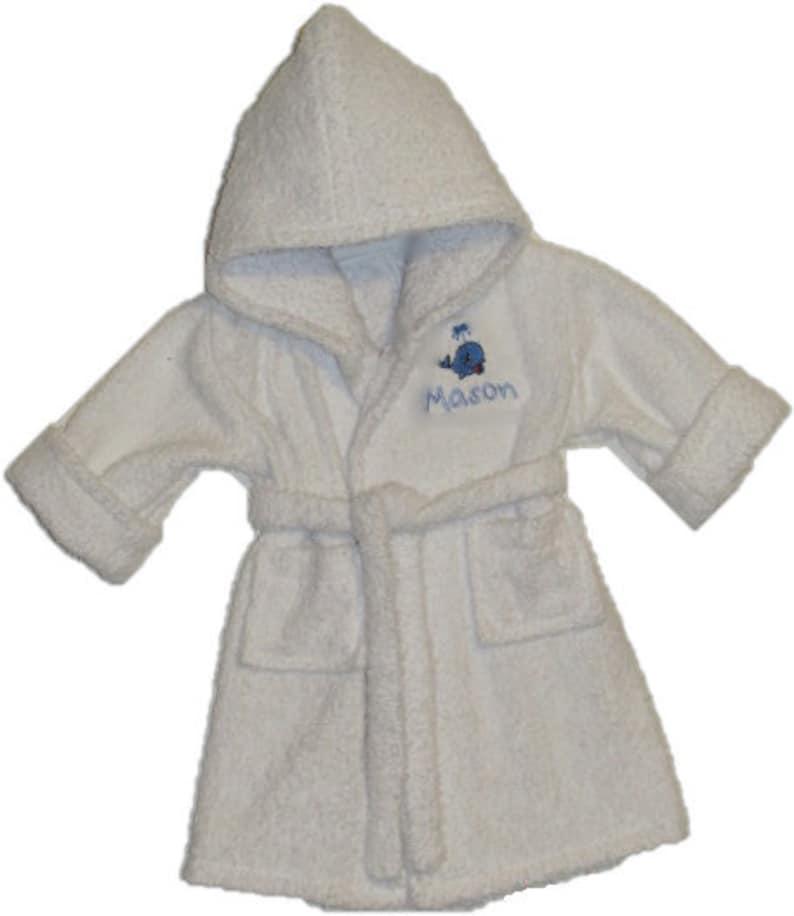 Personalized Handmade baby bathrobes.  65ef2f0f9