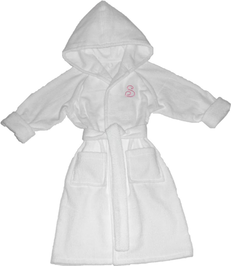 Handmade Personalized Childrens Bathrobe  e5cd7d740
