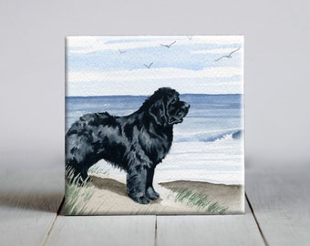 eco upcycled lanterns Newfoundland Dog Paper Lantern No.863 book club gifts 1st wedding anniversary gifts vet gifts housewarming gifts