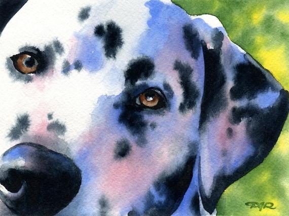 Shiba Inu Art Print Sepia Watercolor Painting by Artist DJR