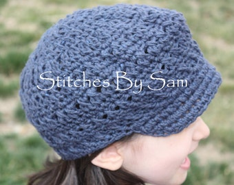 Newsboy Cap PATTERN