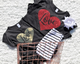 READY TO SHIP!!! Valentine's love tee