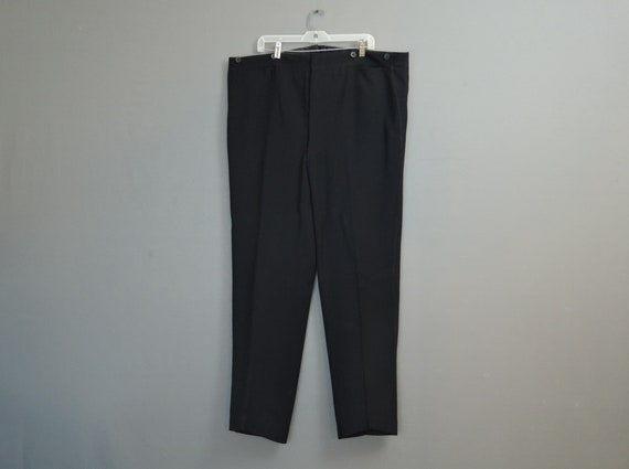 Vintage 1930s 1940s Men's Pants, XL 46 inch waist,