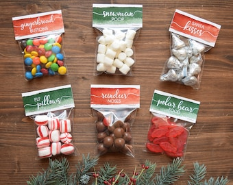 Christmas Candy Bag Etsy