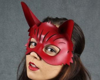 Foxy Leather Mask