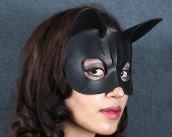 Kitty Leather Mask