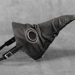 Second -- Stiltzkin leather plague doctor mask in antique black