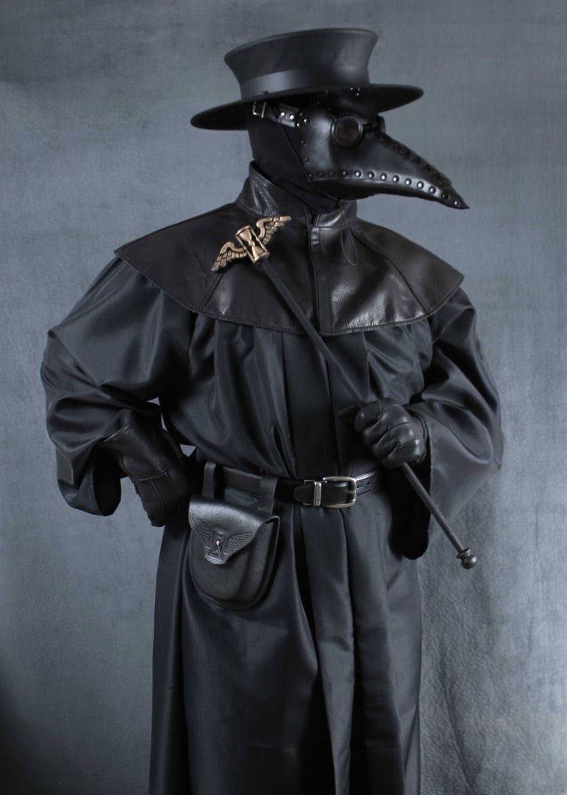 Plague Dr Costume Schnabel mask image 0
