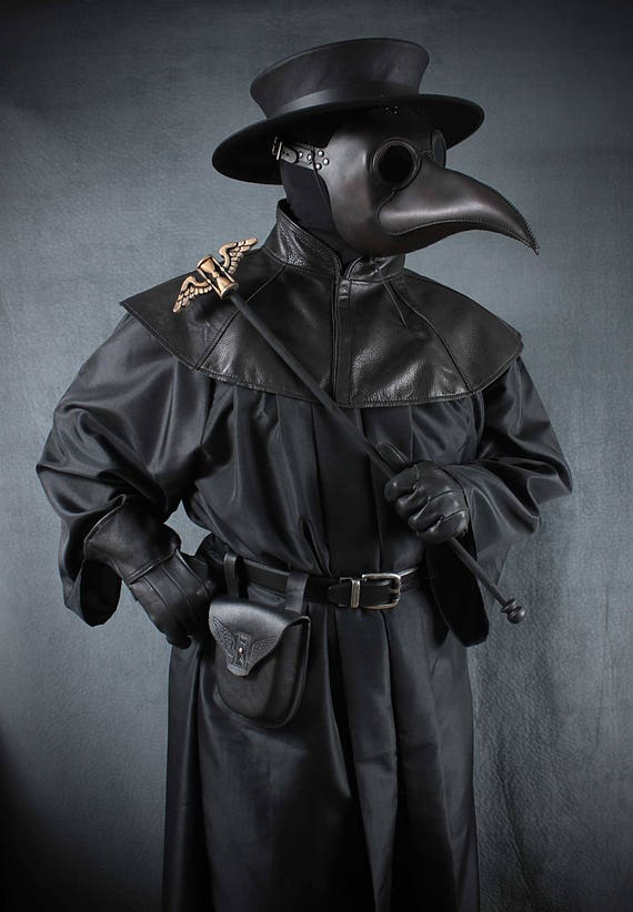 Plague Doctor Costume Maximus Mask Etsy