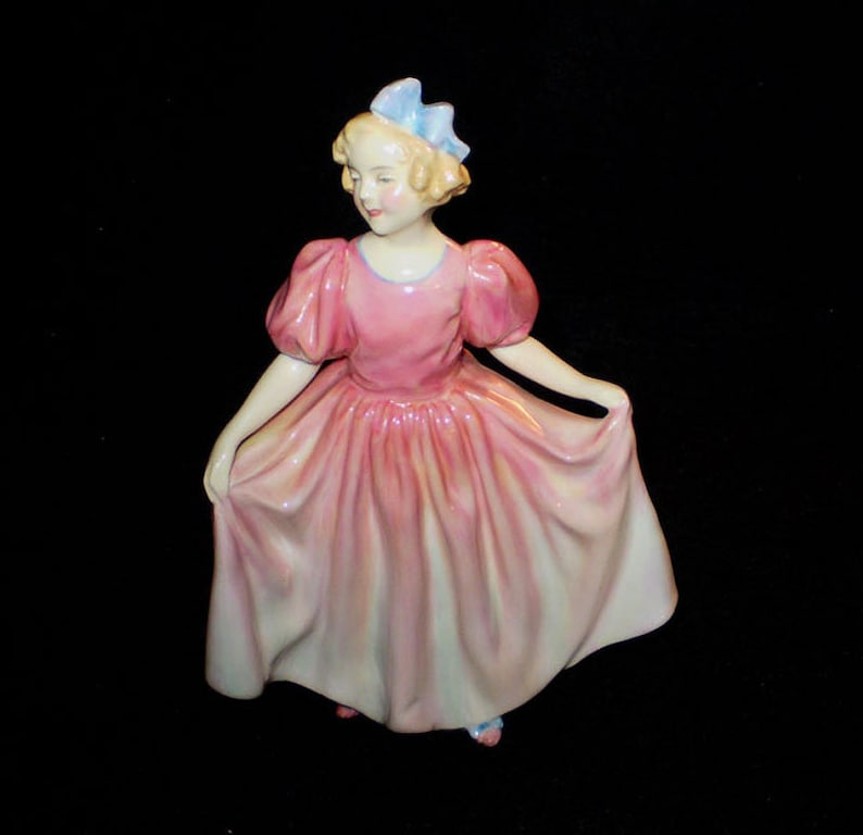 Vintage 50s Royal Doulton Sweeting Dancing Figurine image 0