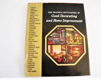 vintage 1970s good decorating encyclopedia, volume 1 greystone press 1970