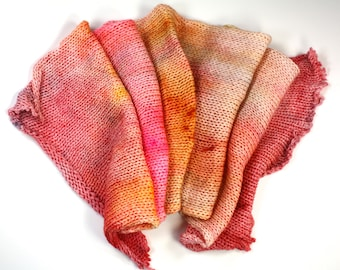 Whimsical-hand dyed double stranded sock blank, merino and nylon (462yds/100gm)